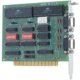 16550 uart  8 mhz xtal
