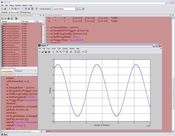 DAQ Adaptor for MATLAB