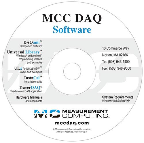 MCC DAQ CD - Measurement Computing