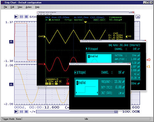 TracerDAQ and TracerDAQ Pro Virtual Instrument Suite