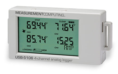 Multi Channel Battery Powered Data Loggers Measurement