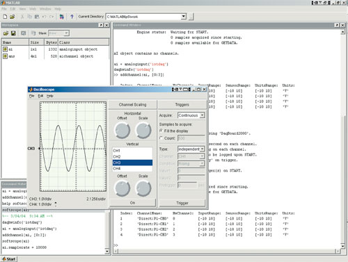 MATLAB® Support for MCC Products