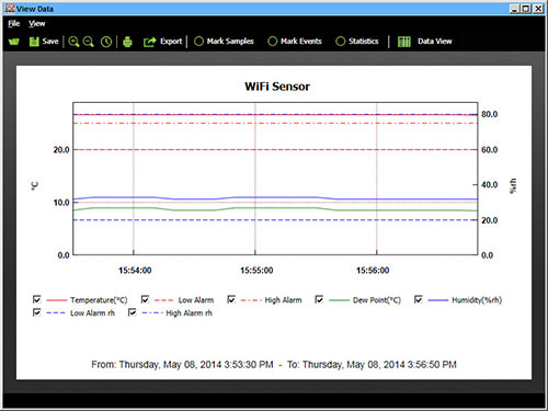 WiFi Sensor Software
