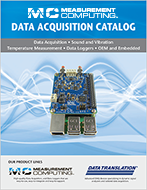 Data Acquisition (DAQ) - Measurement Computing