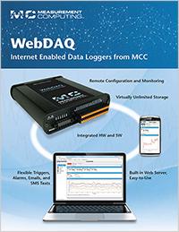 Folleto de WebDAQ