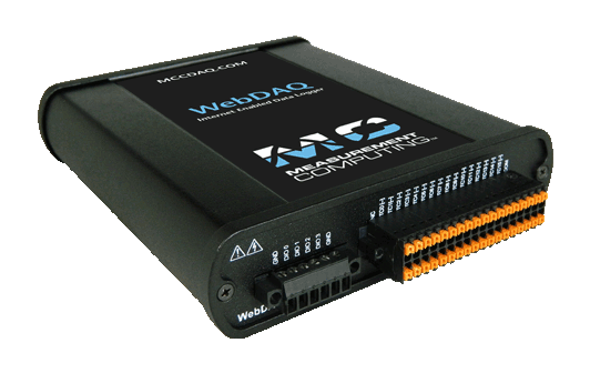 WebDAQ Internet Enabled Data Loggers